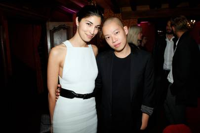 Caroline Issa and Jason Wu