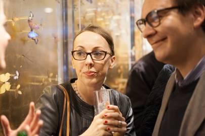 Christine White and Alex Classick