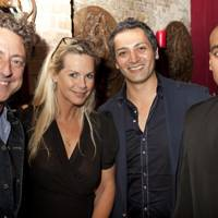 Jeremy Healy, Emma Woollard, Hari Dhillon and Gary Pillai