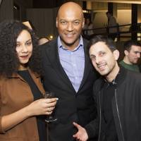 Sasha Salmon, Colin Salmon and Dynamo