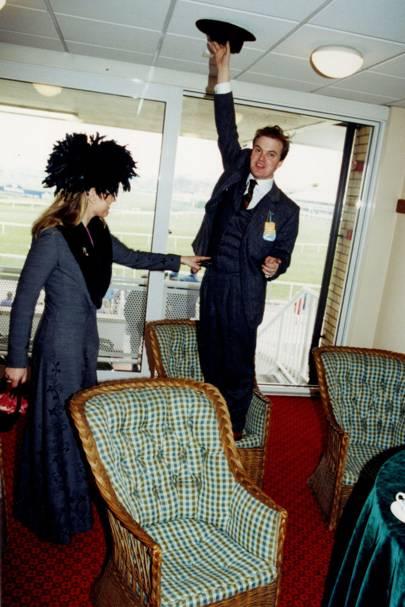 Lady Dalmeny and Lord Dalmeny in 2000