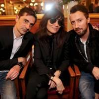 Emmanuel Tomasini, Emmanuelle Alt and Anthony Vaccarello