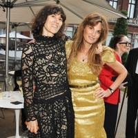 Bella Freud and Jemima Khan