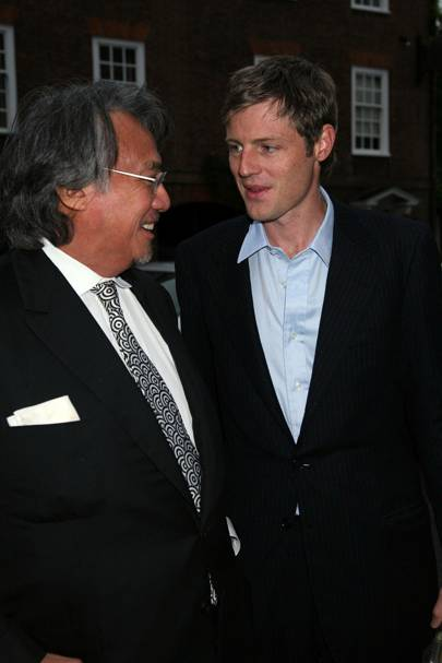 Sir David Tang and Zac Goldsmith, 2007