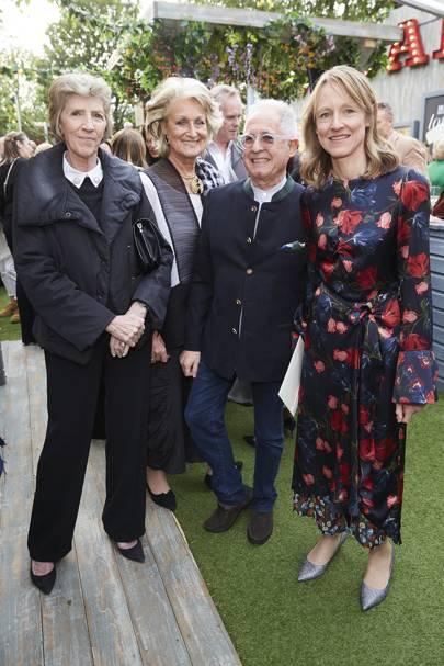 Jane Churchill, Lavinia Dargie, David Bentheim and Hatta Byng