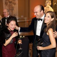 Ying Yin, Count Patrick Saich and Marie-Louise Chaldecott