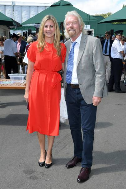 Holly and Richard Branson