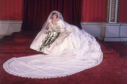 The Prince of Wales' marriage to Lady Diana Spencer, 1981