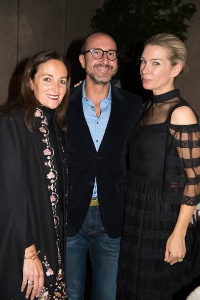 Daniela Agnelli, Gianluca Longo and Pippa Vosper