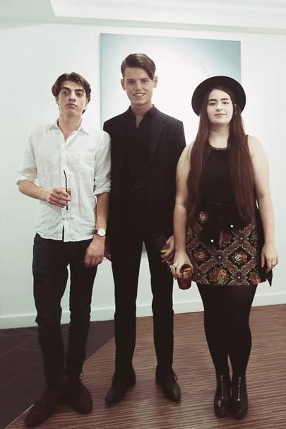 Sascha Bailey, Conor Bond and Hailey Bloom