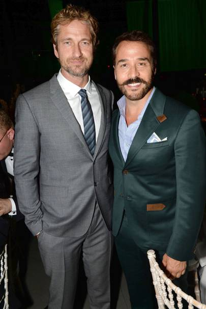 Gerard Butler and Jeremy Piven