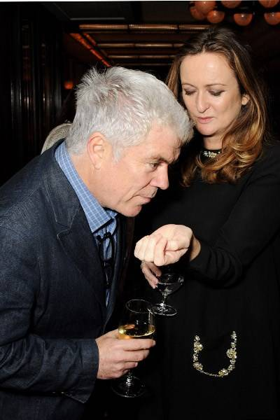 Tim Blanks and Lucy Yeomans
