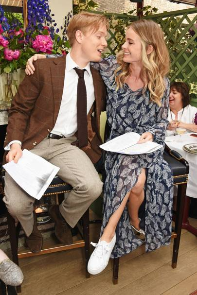 Freddie Fox and Cressida Bonas