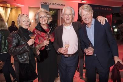 Sarah Stewart-Smith, Lavinia Dargie, Randle Siddeley and Angus Gibson