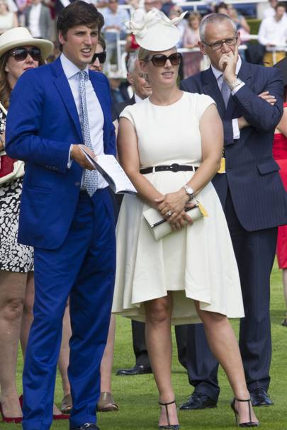 Jake Warren and Zara Tindall