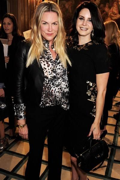 Emma Hill and Lana Del Rey
