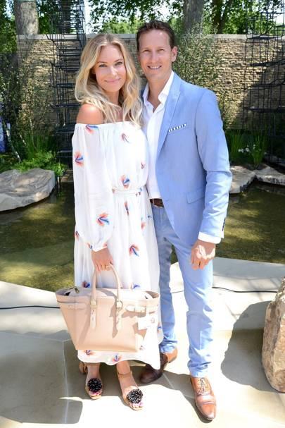 Zoe Cole and Brendan Cole