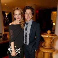 Jocelyn Towne and Simon Helberg