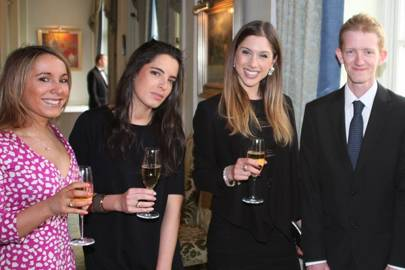 Hollie Kutchinsky, Leah Benrimoj, Paola Langella and Matthew Hetherington