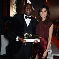 David Lammy and Gemma Chan