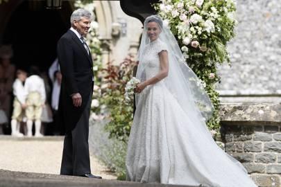 Michael Middleton and Pippa Middleton
