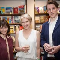 Katherine Kingsley, Sarah Naughton and Sam Usher