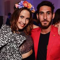 Prisca Courtin and DJ David Reyner