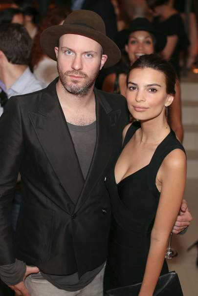 Jeff Magid and Emily Ratajkowski