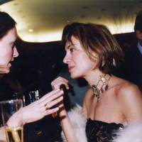Countess Tatjana von Bismarck and Sahar Hashemi
