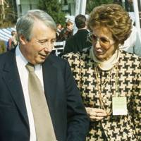 Lord Harris of Peckham and Mrs John Major
