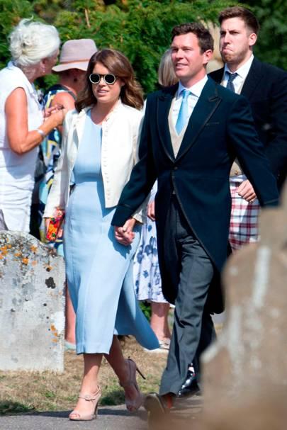 princess eugenie has reportedly hired the beckham u2019s