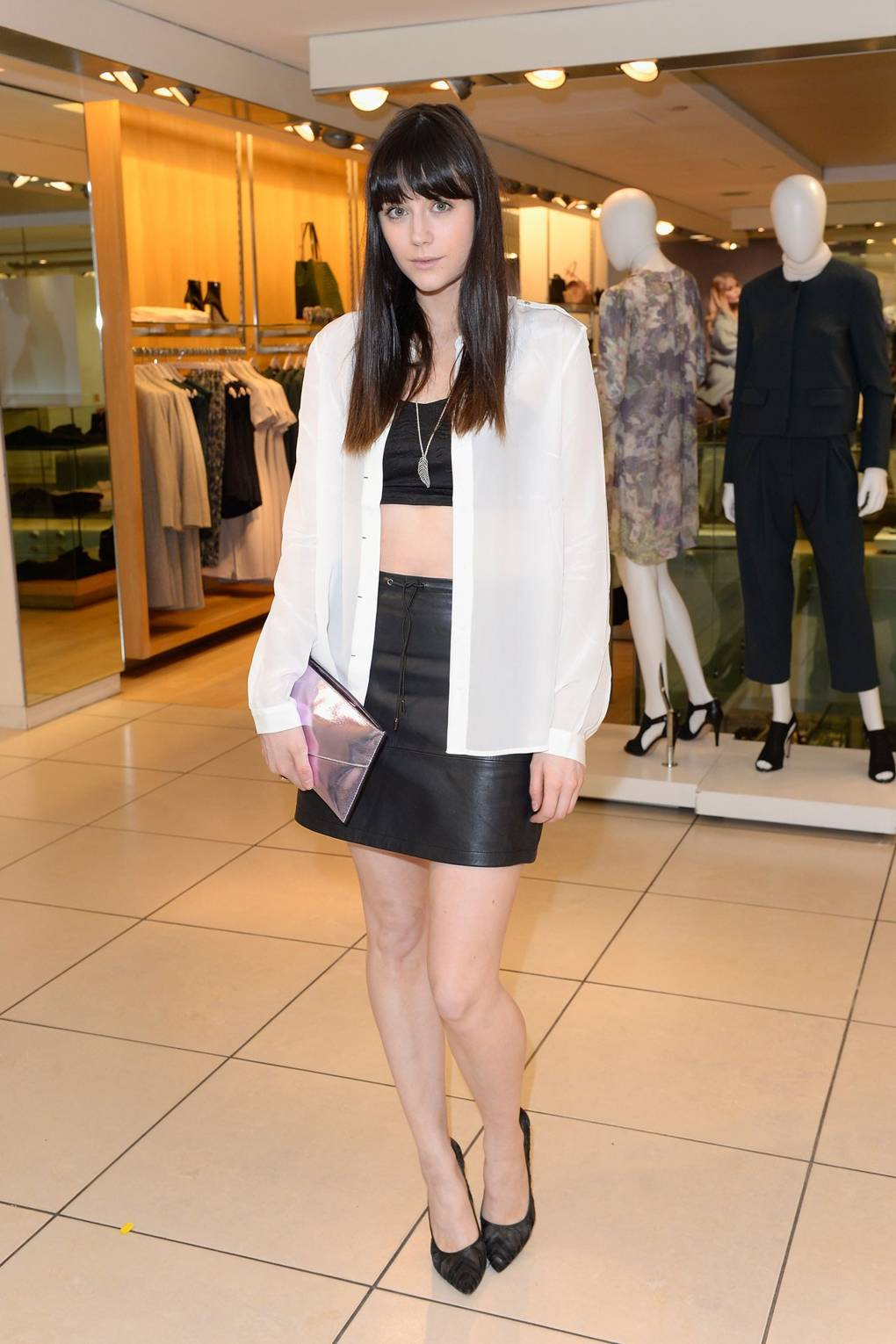 Launches yumi aw14 campaign lilah parsons