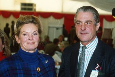 Mrs Fred Barker and Captain Fred Barker