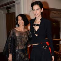 Lady Amanda Harlech and Stella Tennant