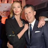 Stefano Tonchi and Karlie Kloss