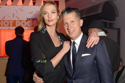 Stefano Tonchi and Karlie Kloss