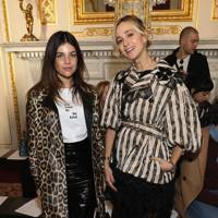 Julia Restoin Roitfeld and Princess Elisabeth von Thurn und Taxis at Simone Rocha A/W18