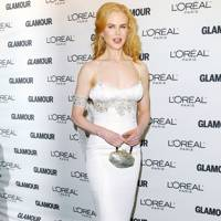 Wearing L'Wrenn Scott at the Glamour Women of the Year awards, 2008