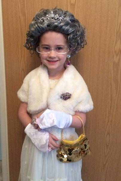 Lily Stammers as the Queen from 'The BFG'