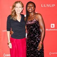 Deborah Dugan and Patricia Asamoah in Monte Carlo