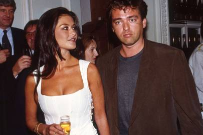 Catherine Zeta-Jones and Angus MacFadyen