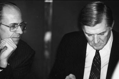 Norman Tebbit and Cecil Parkinson