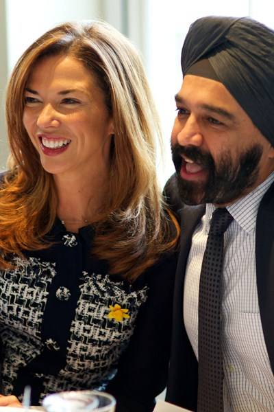 Heather Kerzner and Harpal Kumar