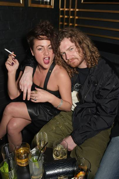 Jaime Winstone and Sean Nammock