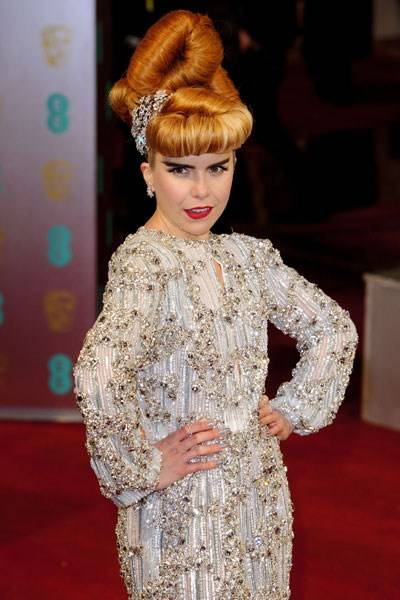 The 'Please Don't Tell Me She's Sitting in Front of Me' Prize for Big Hair: Paloma Faith