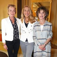Caroline Somerset, Jerry Hall and the Marchioness of Dufferin and Ava