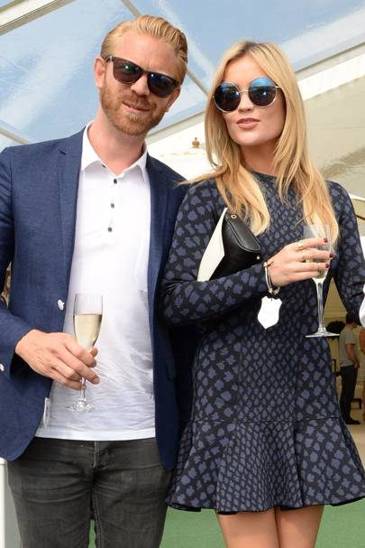 Alistair Guy and Laura Whitmore