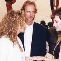 Mrs Mike Rutherford, Mike Rutherford and Marie Helvin