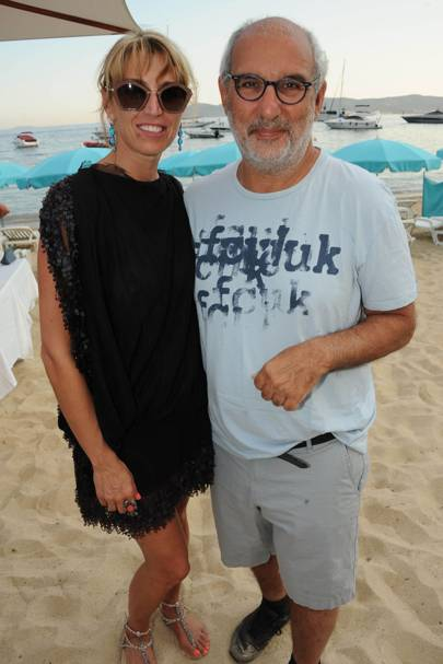 Alan Yentob and Assia Webster