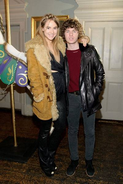 Suki Waterhouse and Luke Pritchard